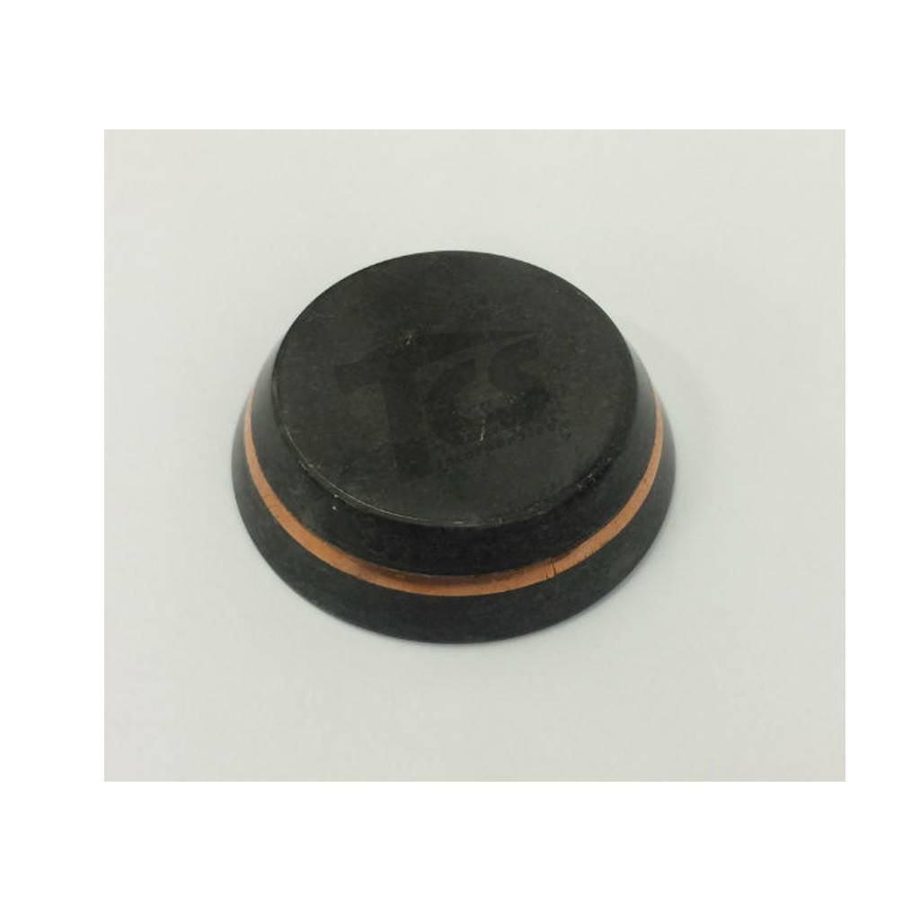 Just Sculpt Black Stone Base 3in With Copper Band