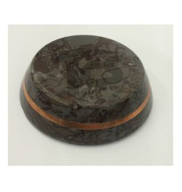 Just Sculpt Varigated Stone Base 3in With Copper Band