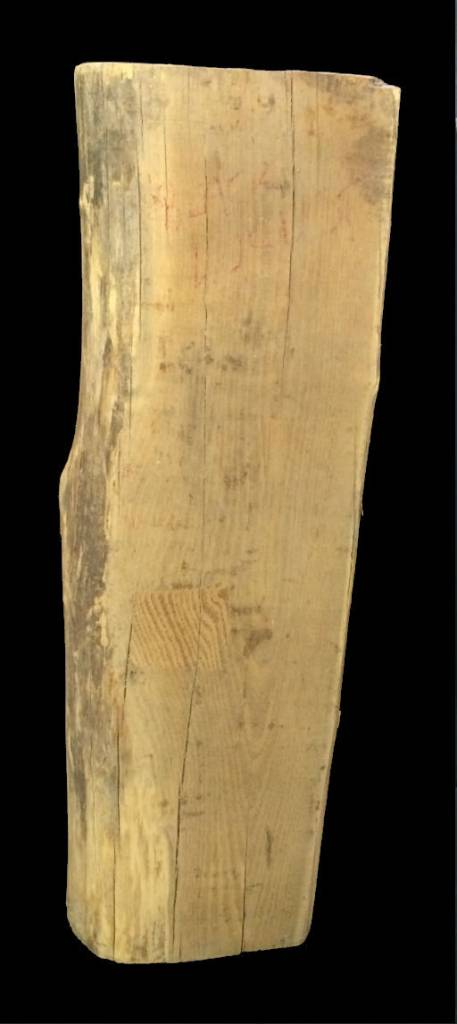 "Wood Black Locust Log 31""x9""x6""  #121003"