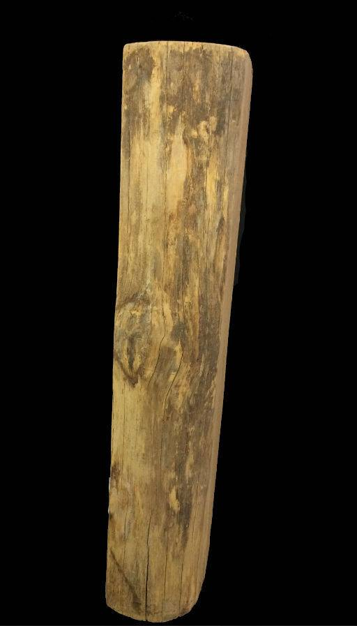 "Wood Black Locust Log 31""x9""x6""  #121003"
