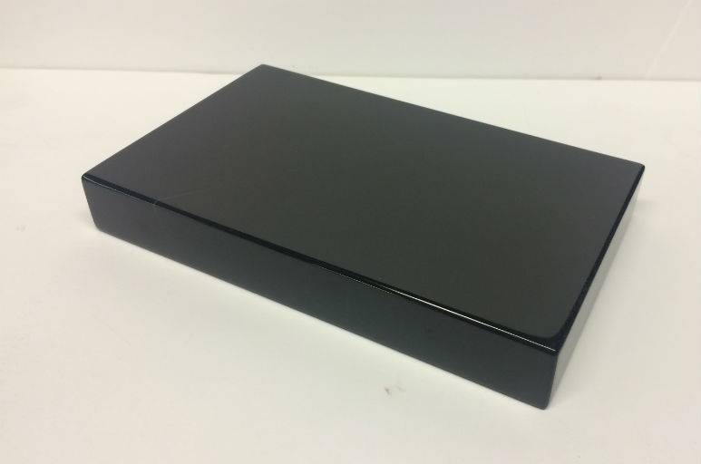 Marble Base 7.5x4.5x1 Belgian Black #991012