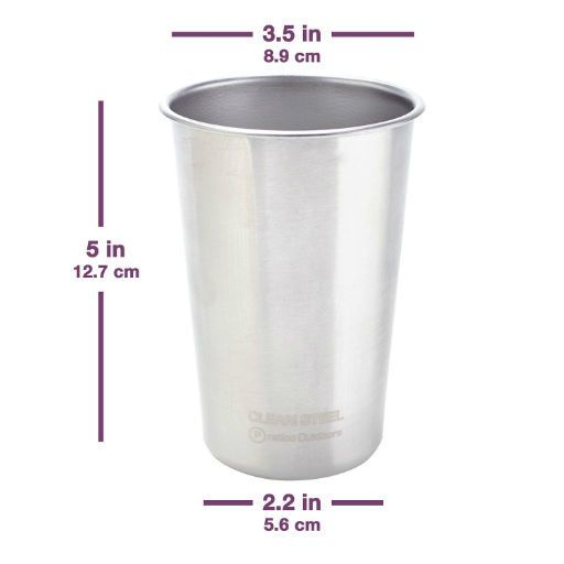 Just Sculpt Stainless Steel Wax Cups 16oz