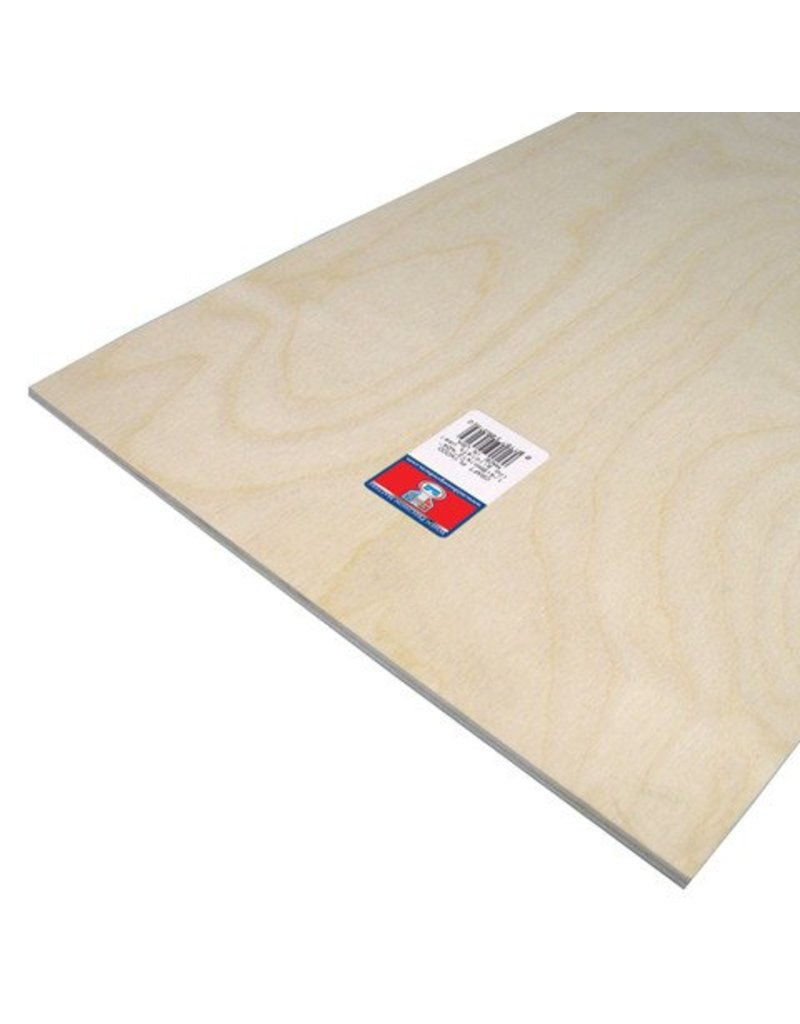 Craft Plywood - 1/4 x 12 x 24 inches