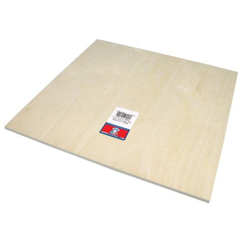 Craft Plywood - 1/4 x 12 x 12 inches