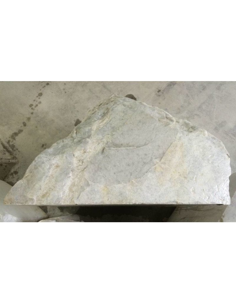 Stone 997lb Carrara Bianco blue/gray 33x33x41 #511001