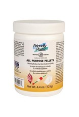 Friendly Plastic Ivory Pellets 4.4oz