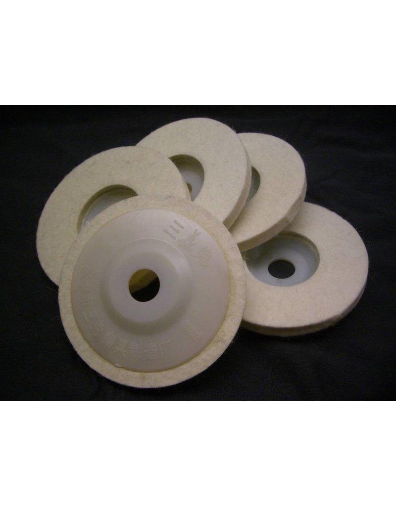 "Just Sculpt 4"" Felt Buffing Wheel"
