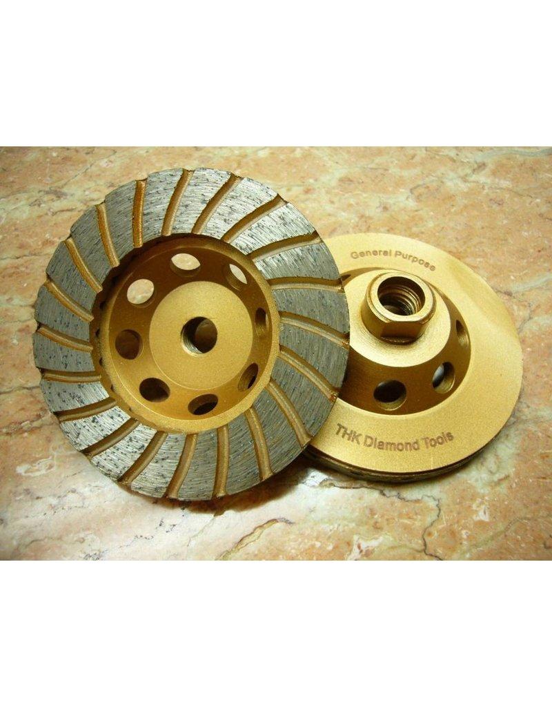 "Just Sculpt 5"" Sintered Turbo Diamond Grinding Wheel"