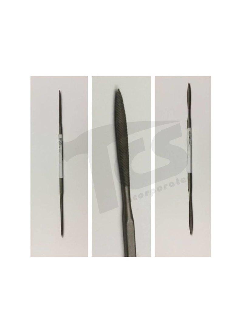 """Just Sculpt Swiss/English Steel Riffler #973 6"""""""