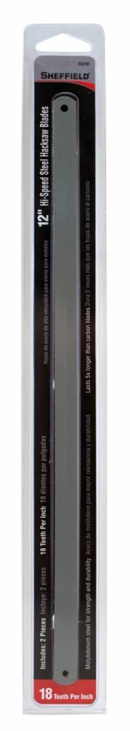 "Just Sculpt Hacksaw Blade 12"" - 18TH Coarse (2 Pack)"