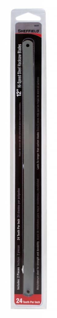 """Just Sculpt Hacksaw Blade 12"""" - 24TH Medium (2 Pack)"""