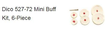 Dico Mini Buff Set of 6