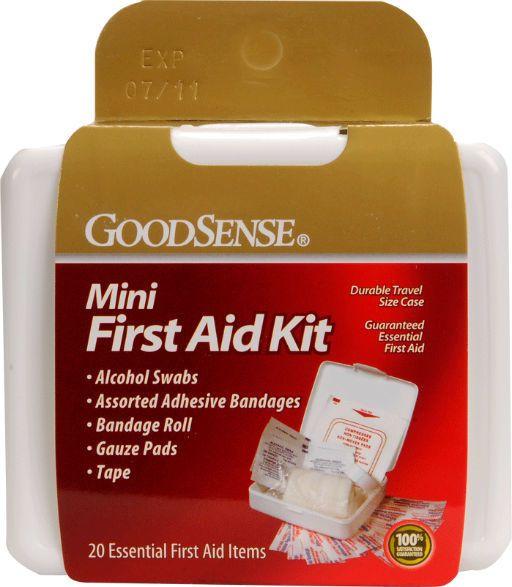 Just Sculpt Mini First Aid Kit 20 Piece