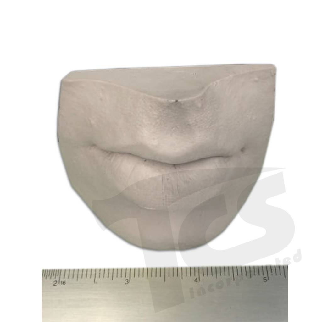 Just Sculpt Resin Mouth #3 (Pursed Lips)
