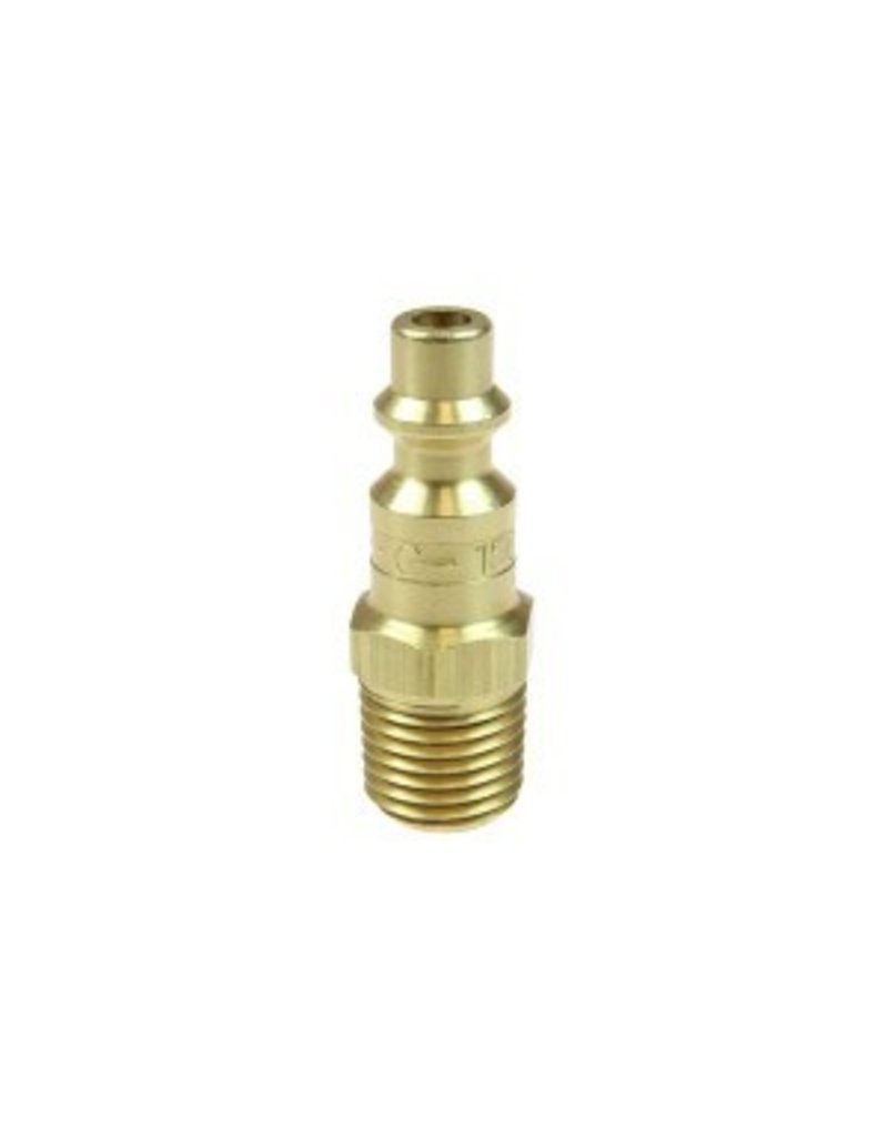 Coilhose 1/4'' Industrial Connector Brass, 1/4'' MPT 1501B (Male)