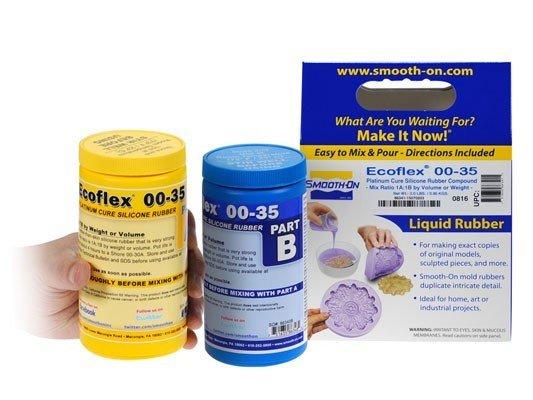 Smooth-On Ecoflex 00-35 Trial Kit