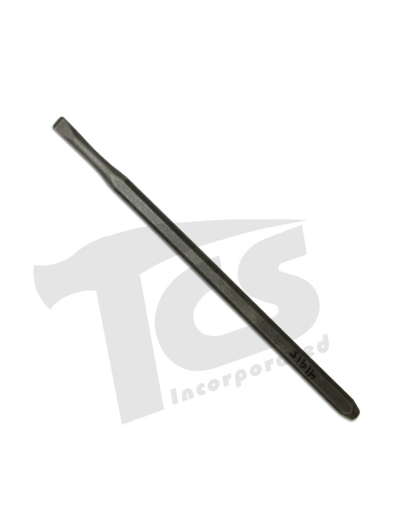 Trow & Holden Carbide Hand Detail Flat Chisel 1/4'' 6mm
