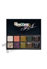 European Body Art Encore Alcohol Palette - Bruce Fuller Autopsy Edition