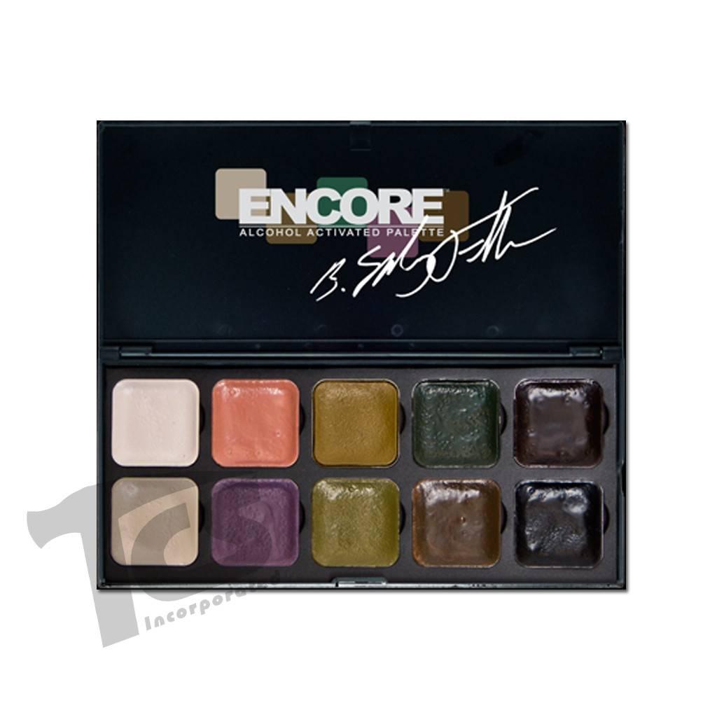 European Body Art Encore Alcohol Palette - Bruce Fuller Autopsy Edition