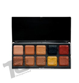 European Body Art Encore Alcohol Palette - SKT Dark w/Adjusters