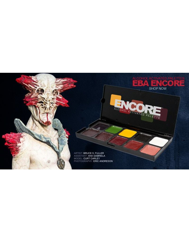 European Body Art Encore Alcohol Palette - Injury Edition
