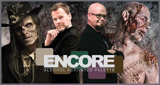 European Body Art Encore Alcohol Palette - Injury Edition