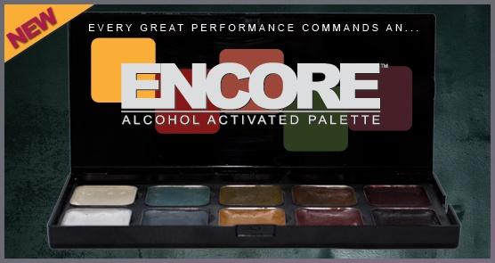 European Body Art Encore Alcohol Palette - Neill Gorton Old Age Palette