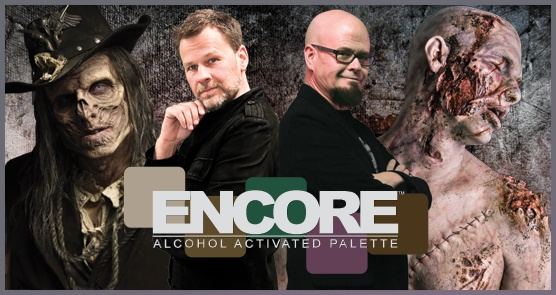 European Body Art Encore Alcohol Palette - SFX Edition