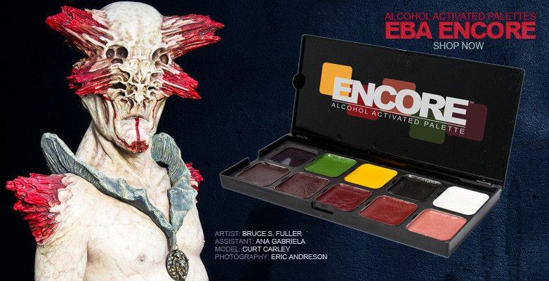 European Body Art Encore Alcohol Palette - Skin Cover Up