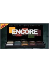 European Body Art Encore Alcohol Palette - Skin Cover Up