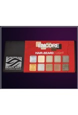 European Body Art Encore Hair & Beard Palette - Light
