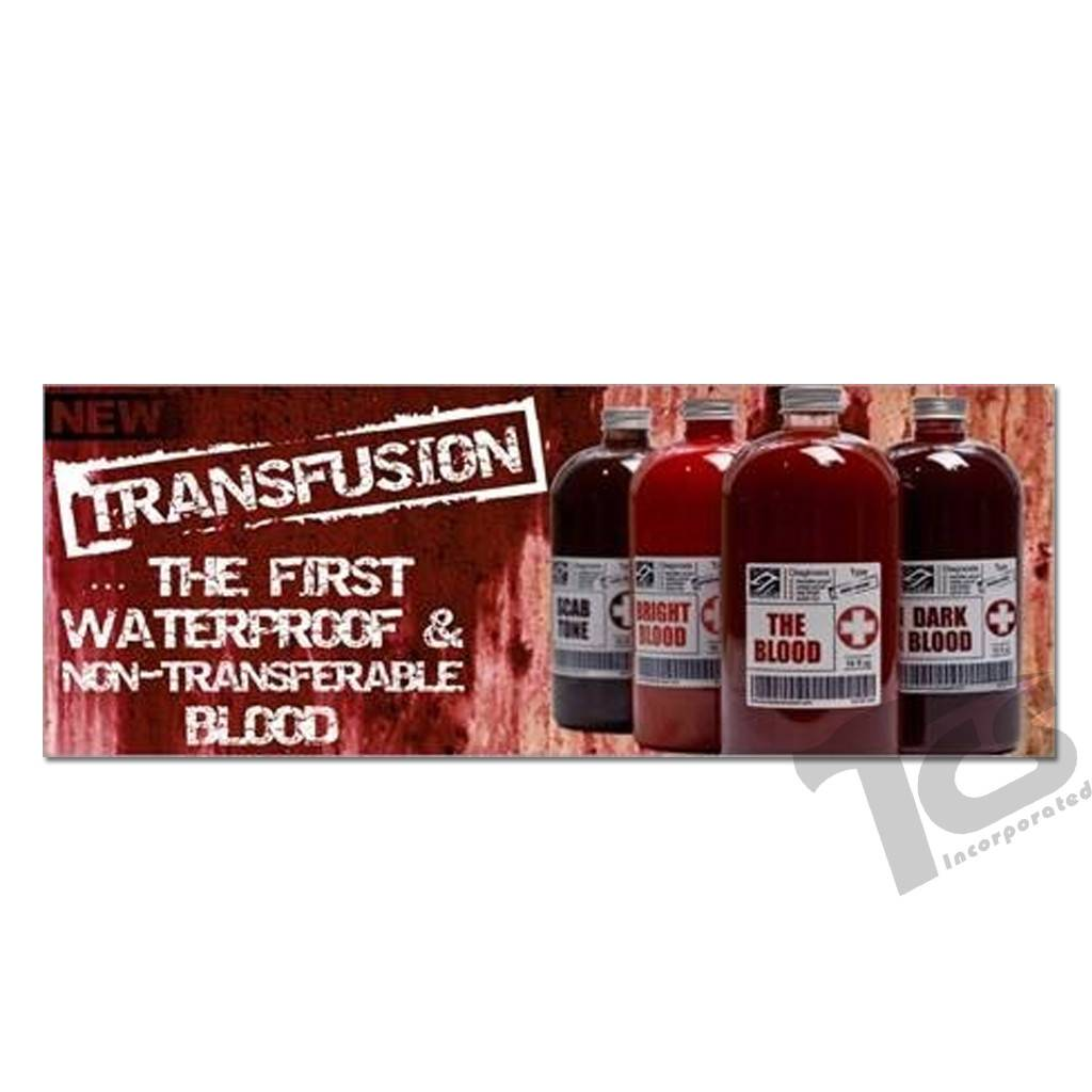 European Body Art Transfusion Blood Scab Tone, Vial