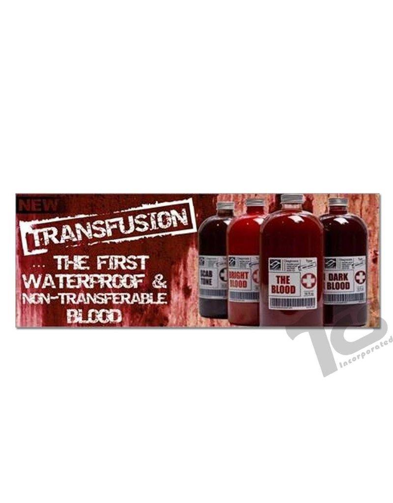 European Body Art Transfusion Blood Bright, Vial