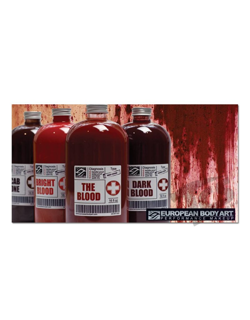 European Body Art Transfusion Blood Bright, 16oz