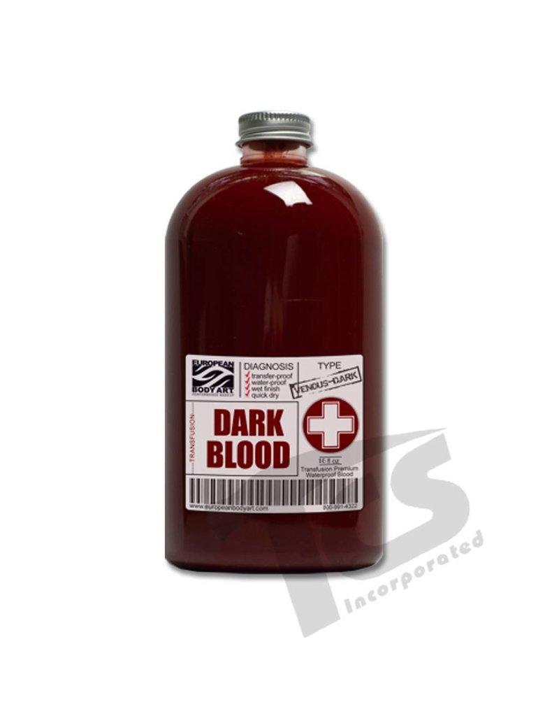 European Body Art Transfusion Blood Dark, 16oz
