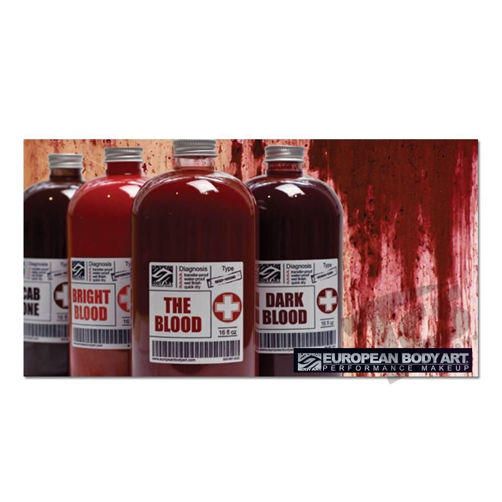 European Body Art Transfusion Blood Scab Tone, 16oz