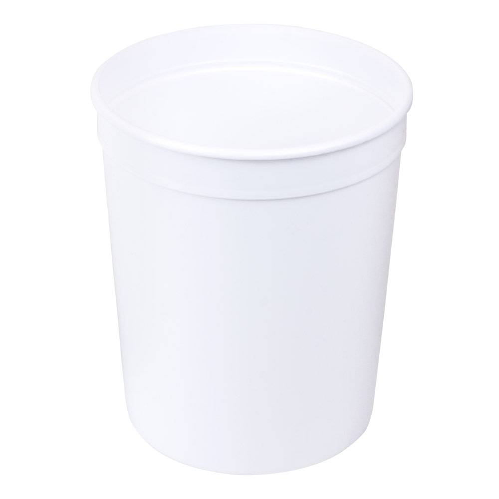 Just Sculpt 80 oz. White Polyethylene Container
