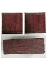 Wood Purpleheart Block 6x6x2