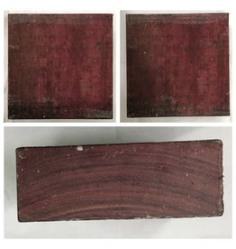 Purpleheart Block 6x6x2