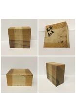 Wood Ash Block 6x6x3