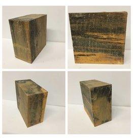 Wood Sycamore Block 6x6x3