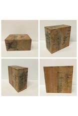 Wood Birch Block 6x6x3