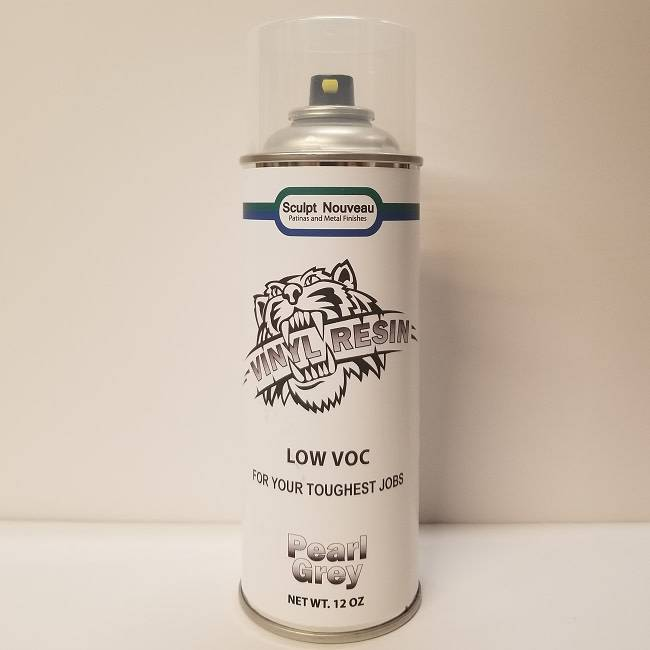 Sculpt Nouveau Vinyl Resin Grey Pearl Spray 12oz