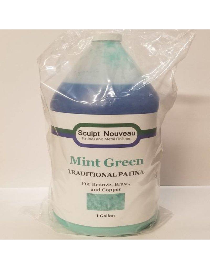 Sculpt Nouveau Traditional Mint Green Patina Gallon Special Order