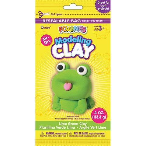 Foamies® Foam Modeling Clay - Lime Green- 4 oz