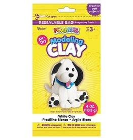 Foamies® Foam Modeling Clay - White - 4 oz