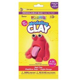 Foamies® Foam Modeling Clay - Red - 4 oz