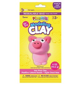 Foamies® Foam Modeling Clay - Hot Pink - 4 oz