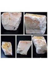 Stone 79lb Peach Translucent Alabaster 11x12x97 #251037