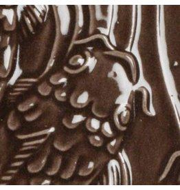 Amaco Low Fire Gloss Glaze Chocolate Brown LG-30